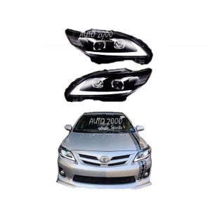 Toyota Corolla Head Lamp Nike Design 2012-2013