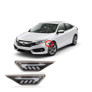 Honda Civic Fender Light Mustang 2016-2020