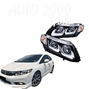 Honda Civic Head Lamp Projection Taiwan 2012-2015