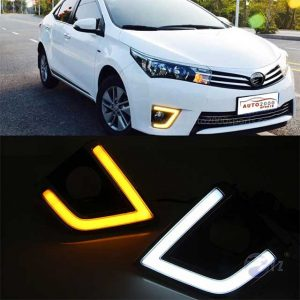 Toyota Corolla Foglamp / Fog lights cover DRL 2014-2017