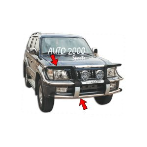Toyota Prado FJ90 Front Bull Bar Model 1996-2002