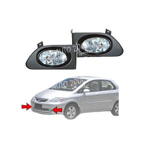Honda City Fog Lamp 2003-2007