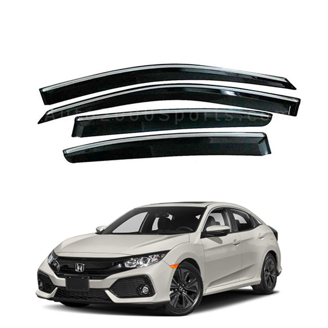 Honda Civic Air Press Window Visors 2016-2020