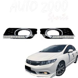 Honda Civic Front DRL Cover 2012-2015
