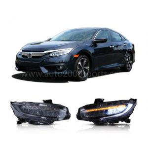 Honda Civic LED Headlamps Headlights Sequential 2016-2020