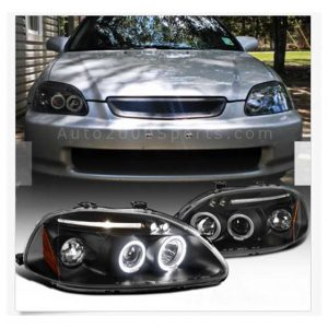 Honda Civic Projector Headlamps Headlights 1996-2000