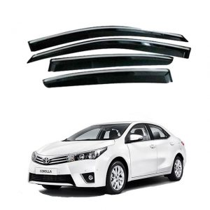 Toyota Corolla Air Press / Window Visor Chrome Border 2014-2019
