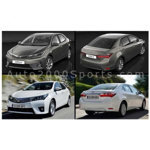 Toyota Corolla Face Uplift Model 2014 to 2019