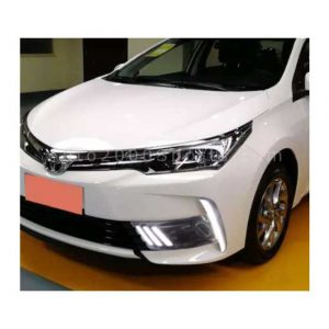 Toyota Corolla Fog lamps Cover DRL Mustang 2017-2019