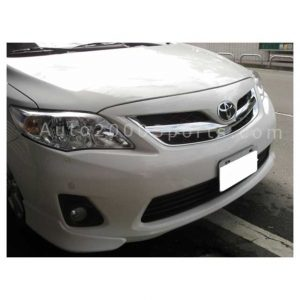Toyota Corolla Front Grill Single Rod Chrome 2012-2013