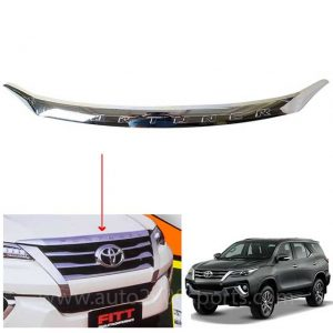 Toyota Fortuner Bonnet Garnish / Patti Chrome Model 2017-2020