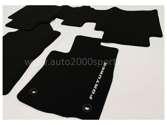 Toyota Fortuner Carpet Mat Twist Fiber 2017-2020