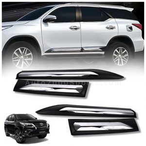 Toyota Fortuner Door Moulding Matt Black 2017-2021
