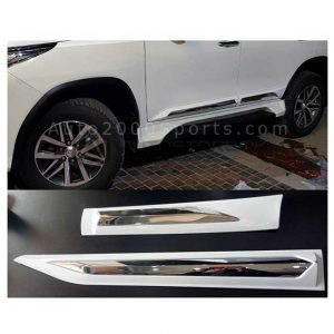 Toyota Fortuner Door Moulding Painted Chrome 2017-2020