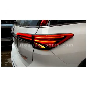 Toyota Fortuner Rear Lamps Neon Trim 2017-2020