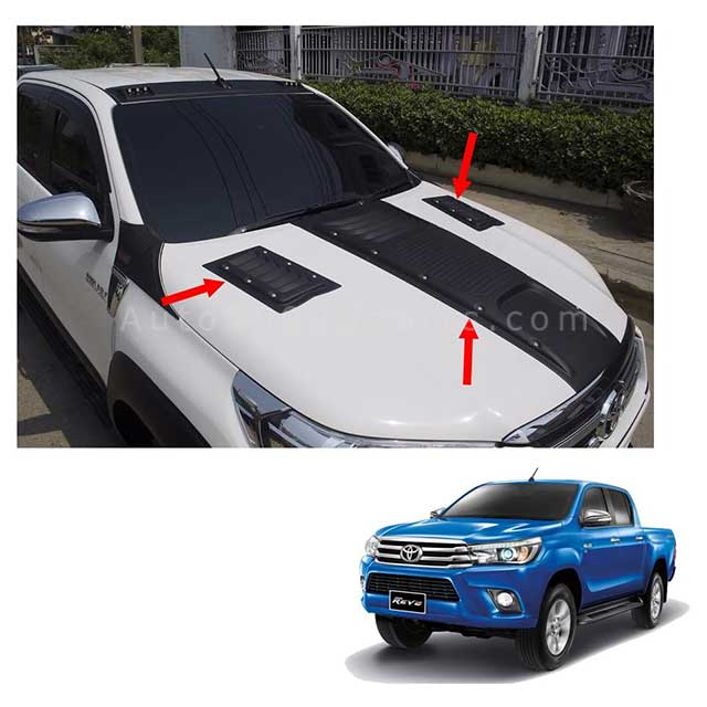 Toyota Hilux Revo Bonnet Scoop Long Model 2016-2020