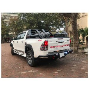 Toyota Hilux Revo Chrome Items Red 2016-2020