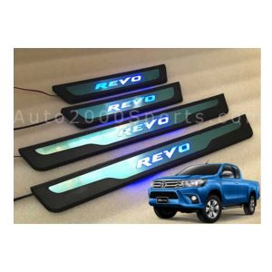 Toyota Hilux Revo LED Door Sill Scuff Plate 2016-2020