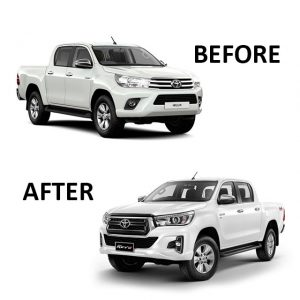 Toyota Hilux Revo to Rocco Facelift Conversion 2016-2020