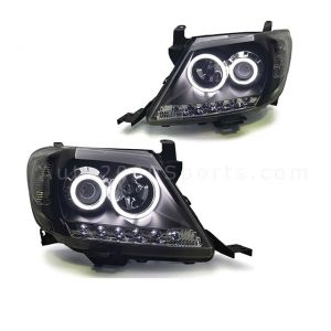 Toyota Hilux Vigo Headlamps Headlights Projector 2005-2012