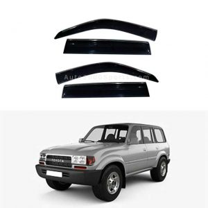 Toyota Land Cruiser FJ80 Air Press Window Visor 1992-1996
