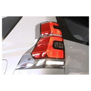 Toyota Land Cruiser Prado FJ150 Rear Lamps Cover Chrome 2009-2019