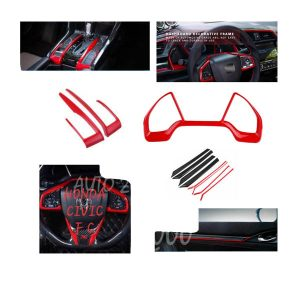 Civic Interior Type R Red Kit