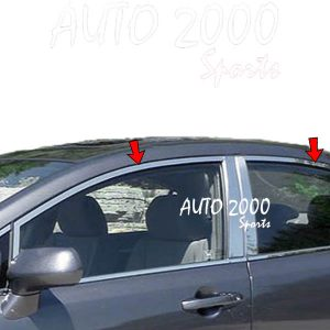 Honda Civic Window Strips Chrome 2012-2015