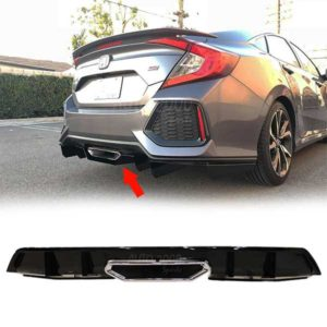 Honda Civic Rear Diffuser Si 2016-2020
