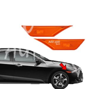Honda Civic Fender Light Orange Model 2016-2020