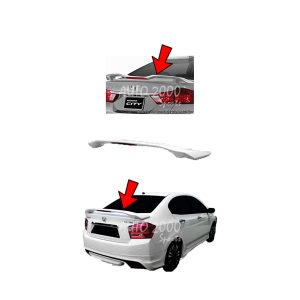 Honda City Trunk Spoiler with Light 2008-2020