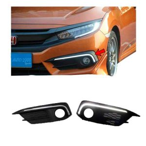 Honda Civic Front DRL Slim 2016-2020