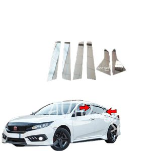Honda Civic Pillar Trim 2016-2020