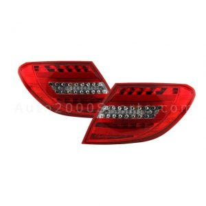 Mercedes-Benz C-Class W204 Rear Lamps 2007-2014