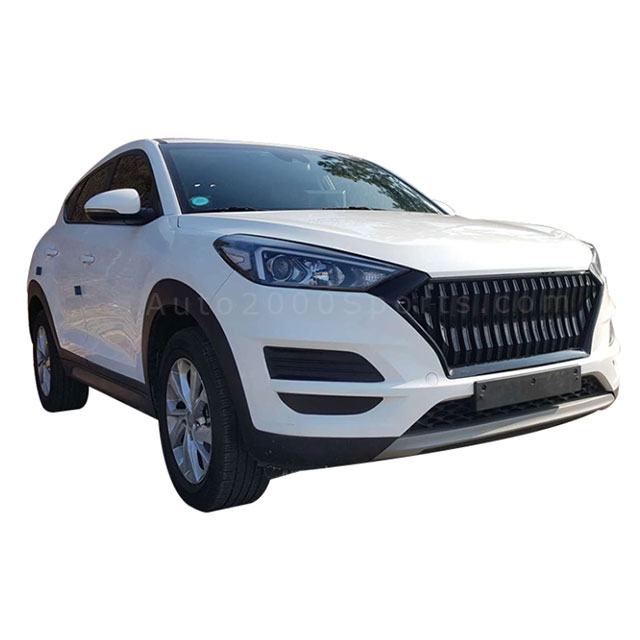 Hyundai Tucson 2020 Front Grill Black