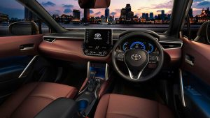 toyota-corolla-cross interior -2021