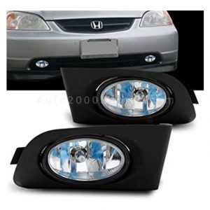 Honda Civic Fog Lamps Fog Lights 2001-2004