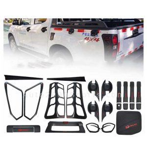 Isuzu D-Max Black Item Kit 2018-2020