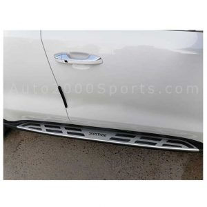 Kia Sportage Side Steps with Logo 2019-2020