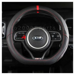 Kia Sportage Steering Wheel Trim Chrome 2019-2020