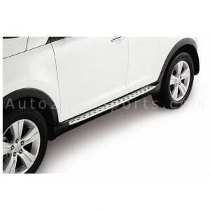 Kia Sportage Side Steps Foot Boards Dotted Design 2019-2021