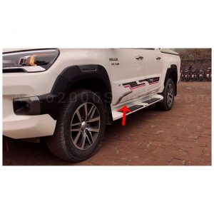 Toyota Hilux Revo Door Moulding Cladding AOS 2016-2021