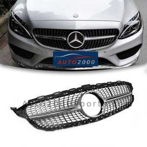 Mercedes Benz C Class W205 Front Grill 2014-2020